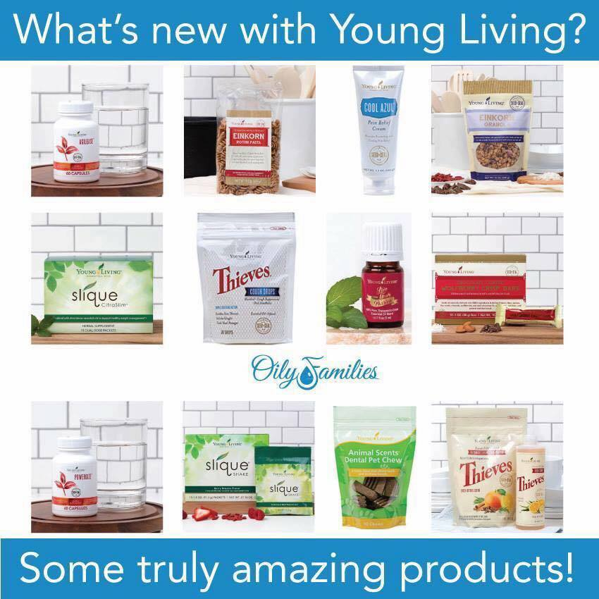 New Young Living Products for Your Whole Family