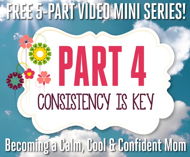 Free 5-Part Video Mini Series - Part 4: Consistency Is Key