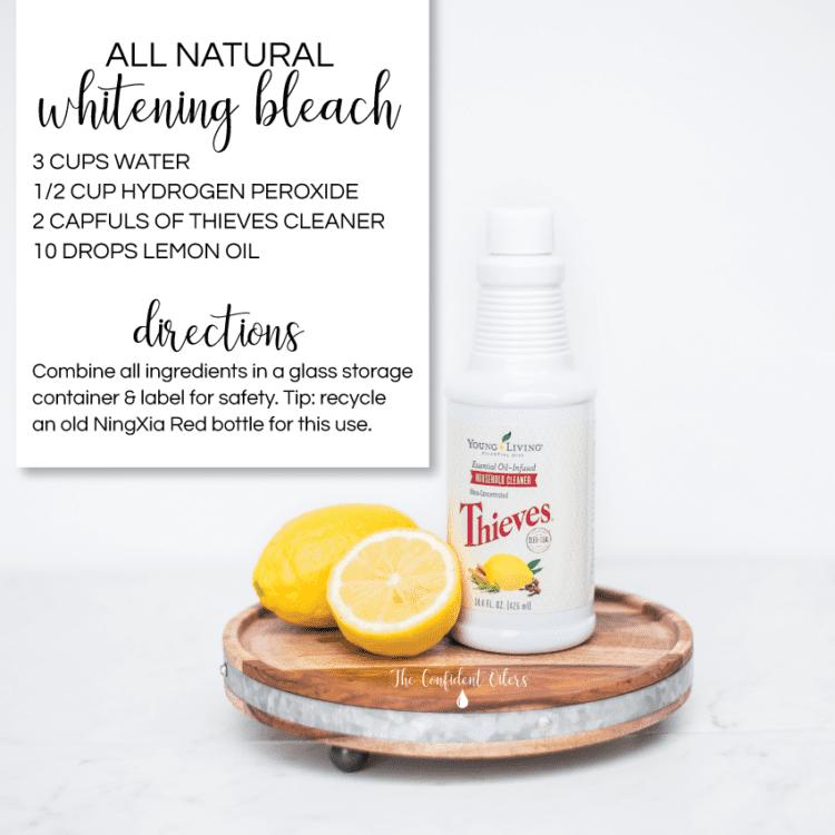 All Natural Whitening Bleach