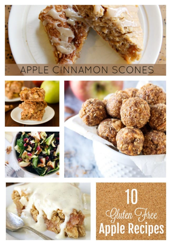 10 gluten free apple recipes for fall