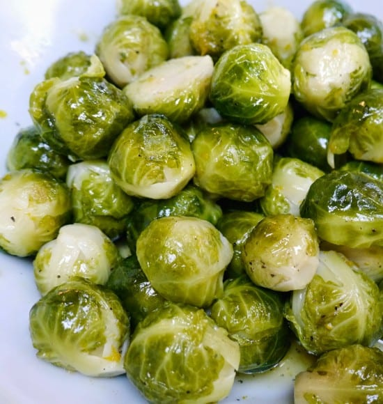 Sweet and Orangey Brussels Sprouts