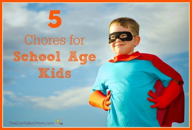 5 Chores for School Age Kids