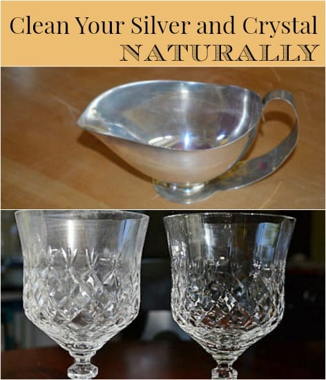 Silver and Crystal Cleaner via The Greenbacks Gal
