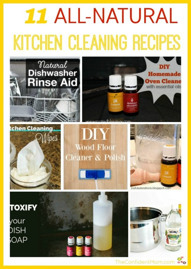 11 All-Natural Kitchen Cleaning Recipes