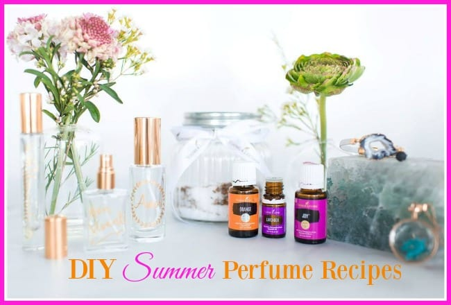 DIY Summer Perfum Recipes