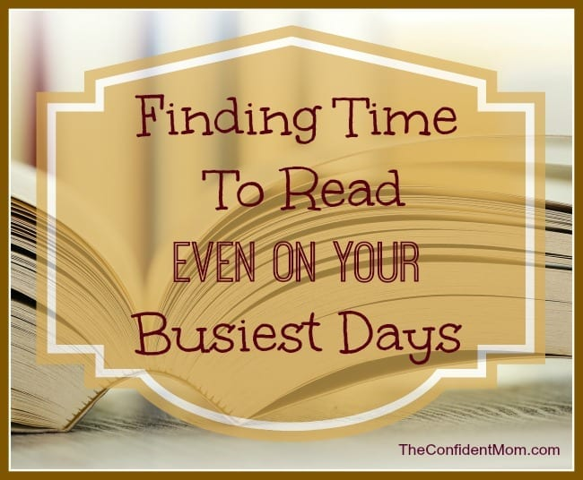 Finding-Time-To-Read-Moms