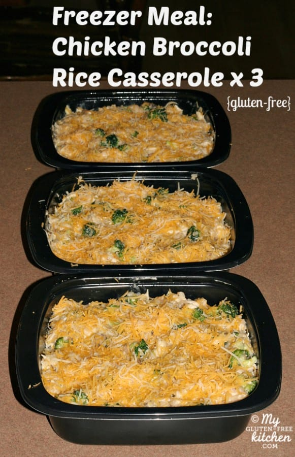 Chicken Broccoli Rice Casserole via My Gluten-Free Kitchen