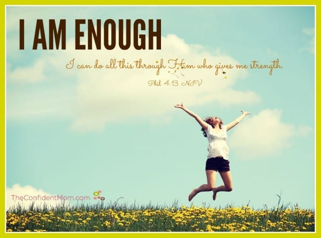 I Am Enough - Scripture to Help Moms Be Good Enough
