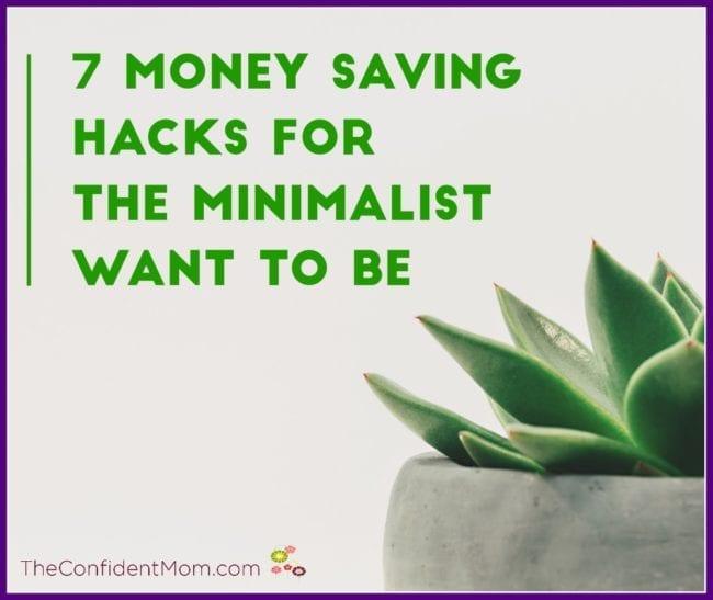 Money Saving Hacks for Minimalists