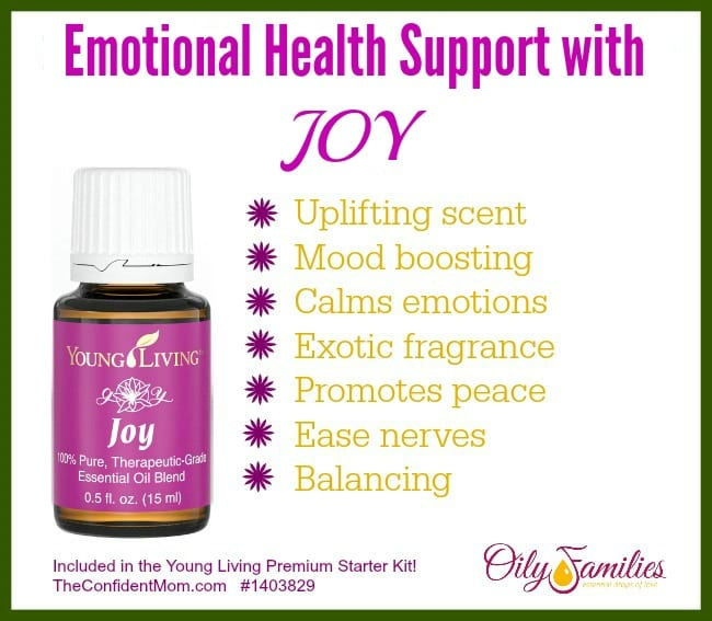 Emotional Health Support with Joy Essential Oil
