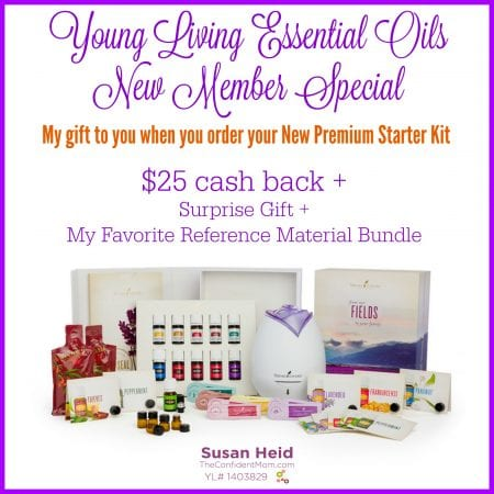 Young Living new member special