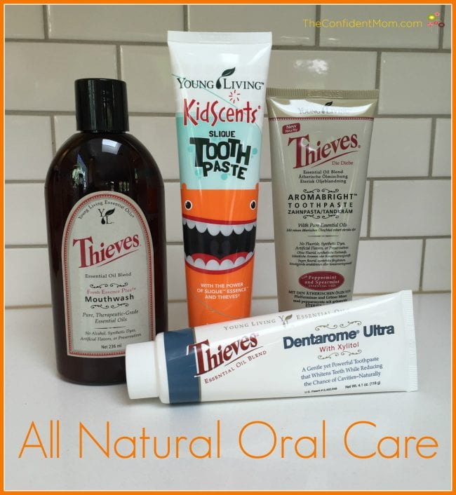 All Natural Oral Care Routine for Kids