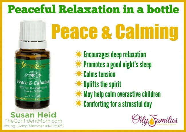 Peace & Calming Essential Oil: Emotional Support
