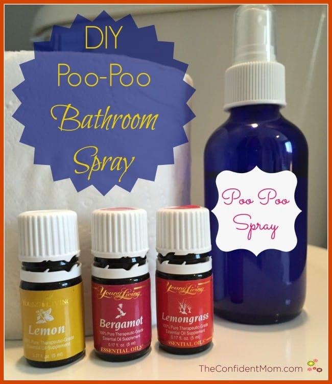 Diy Poo Poo Bathroom Spray The Confident Mom