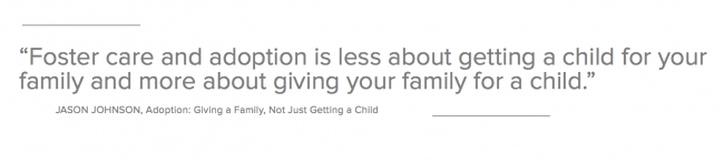 What Foster Care and Adoption Is About