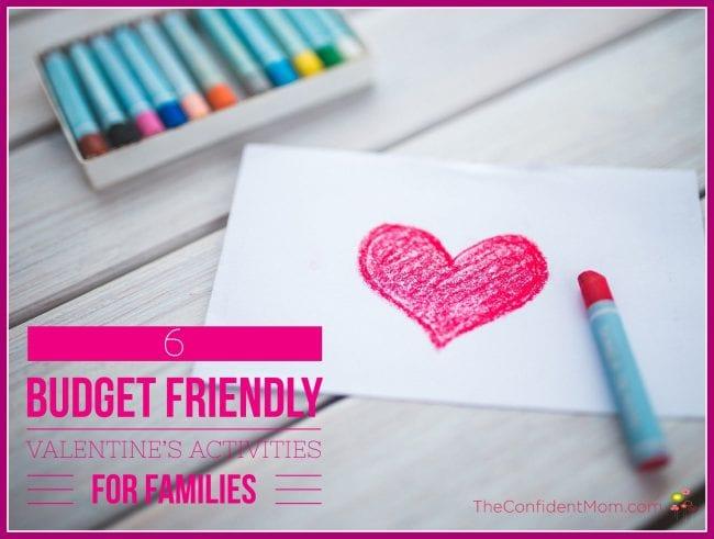 Budget Friendly Valentine's Day Activities