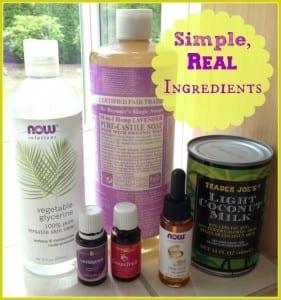 Body Wash Ingredients