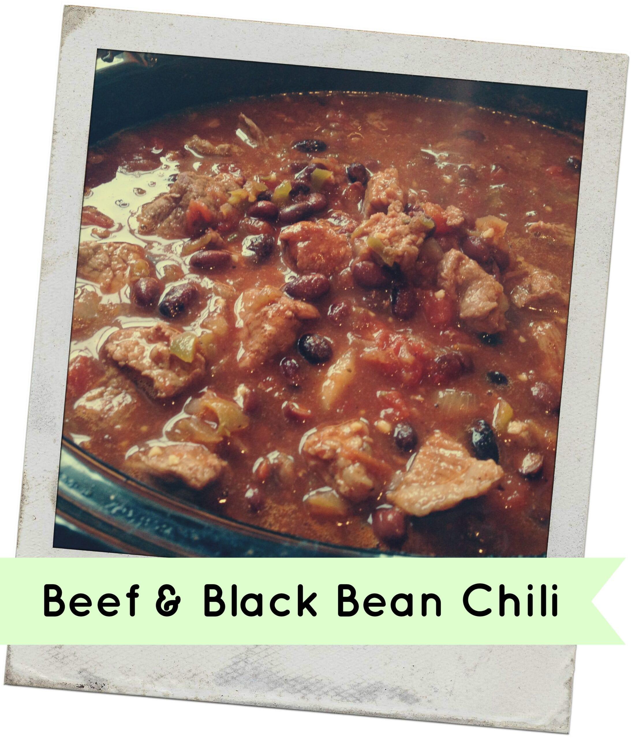 beef-black-bean chili