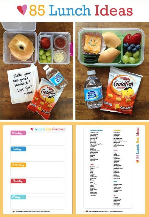 Free Lunch Box Planner
