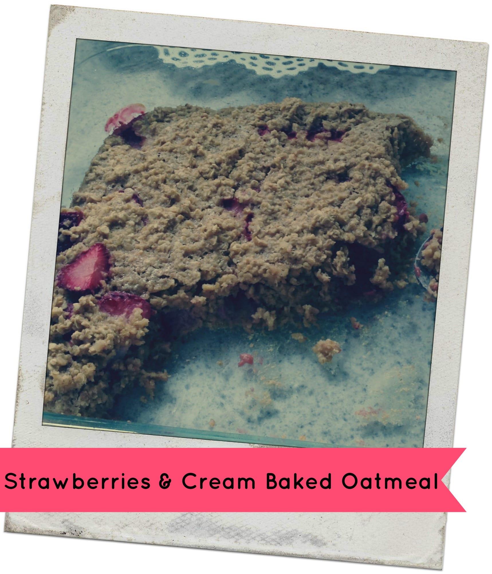 strawberries-cream-oatmeal