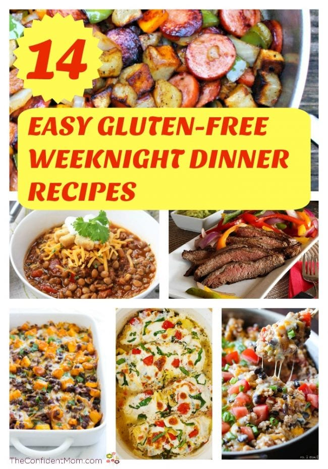 14 Easy Gluten-Free Weeknight Dinner Recipes
