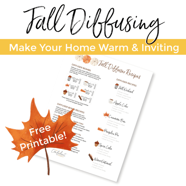 fall essential oil blends for your diffuser