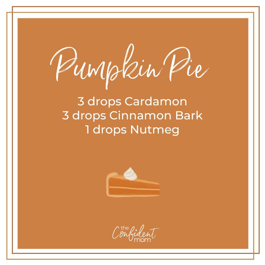 Pumpkin Pie Essential Oil Diffuser Blend