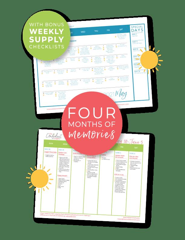 Summer Calendar Salespage 2