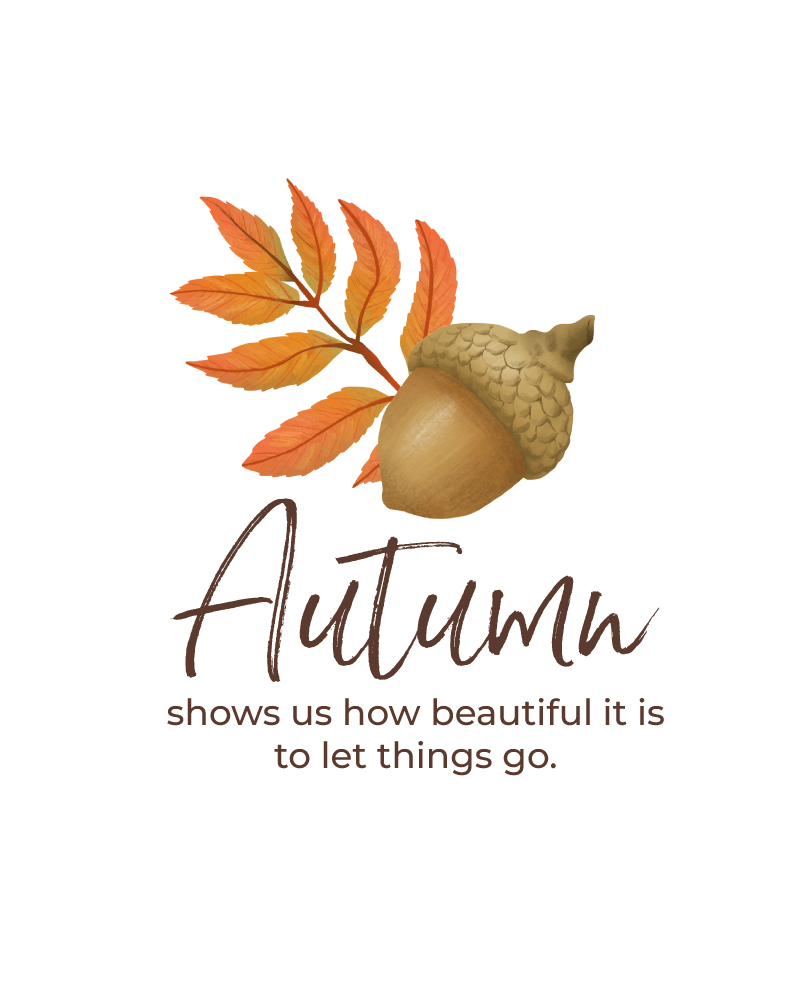 Autumn Let Things Go
